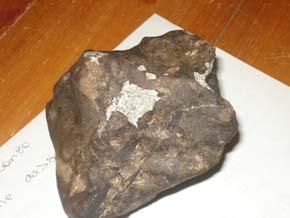 Fragmento principal del meteorito Berduc