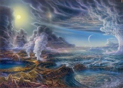 Resultado de imagen de formación de la atmósfera
