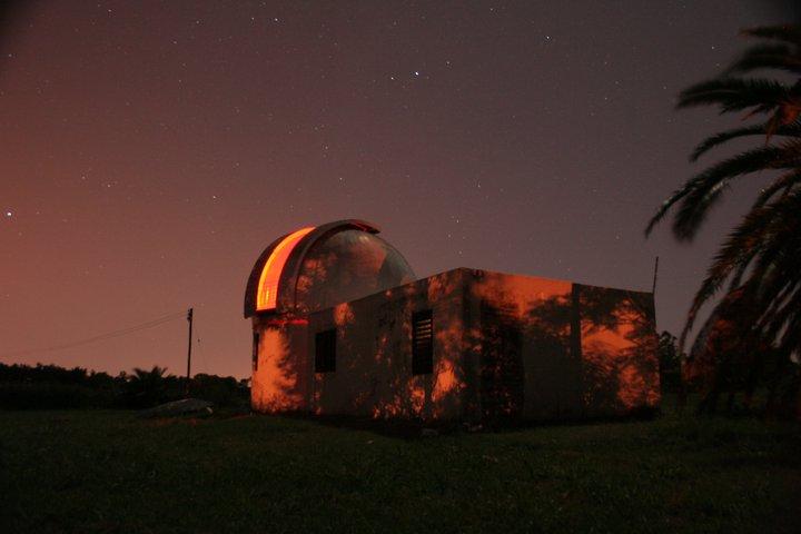 El observatorio de Oro Verde