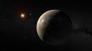 EMBARGOED UNTIL 24 August 2016 AT 1PM ET 1700GMTThe planet Proxima b orbiting the red dwarf star Proxima Centauri the closest star to our Solar System is seen in an undated artist s impression released by the European Southern Observatory August 24 2016 ESO M Kornmesser Handout via Reuters THIS IMAGE HAS BEEN SUPPLIED BY A THIRD PARTY IT IS DISTRIBUTED EXACTLY AS RECEIVED BY REUTERS AS A SERVICE TO CLIENTS FOR EDITORIAL USE ONLY NOT FOR SALE FOR MARKETING OR ADVERTISING CAMPAIGNS